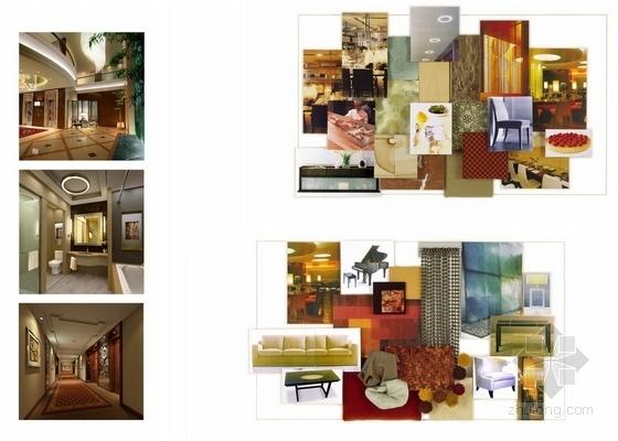 [宜昌]01经济开发区核心地带五星级商务酒店方案设计 材料表