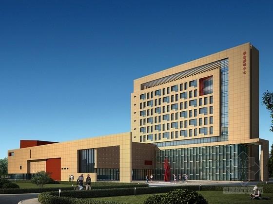 [甘肃]高层学生活动中心建筑设计方案文本(知名大学 含CAD)