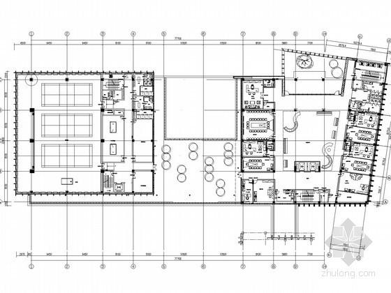 [安徽]综合楼室内装饰工程给排水施工图