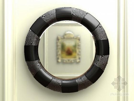vr镜子材质资料下载-欧式新古典镜子