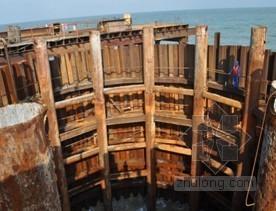 桥梁深水低桩圆形大直径钢板桩围堰施工方案(中交)