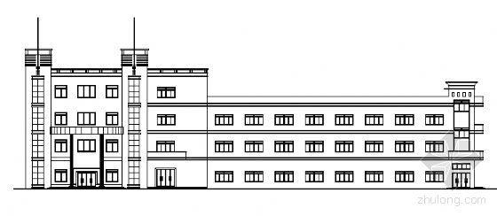 某三层厂房建筑施工图