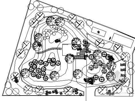 某政府办公环境庭院景观设计施工图