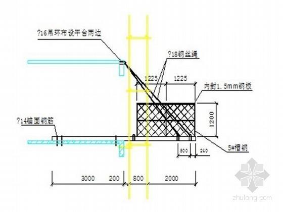 [广东]高层商住楼工程综合脚手架施工方案(单排扣件式钢管脚手架 工字钢悬挑钢管脚手架)