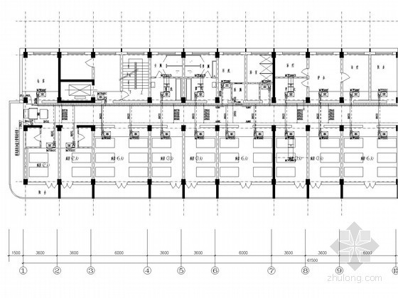 [山东]医院空调改造工程系统设计施工图(风冷热泵机组)