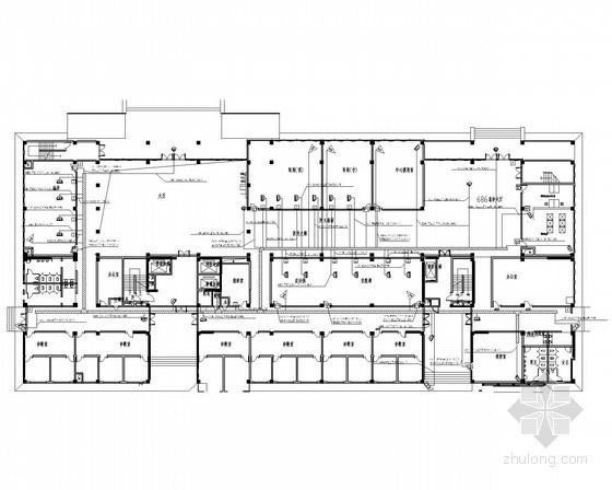 [安徽]医院大楼弱电智能化项目施工图72张(系统全面 甲级智能建筑设计 )