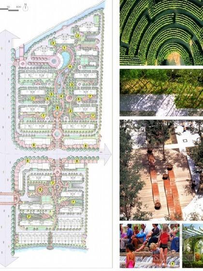 [上海]小区景观规划设计方案