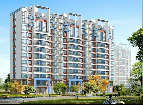 [北京]大型住宅区项目合约规划(知名地产)
