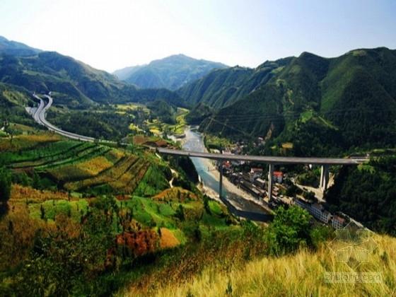 双向四车道高速公路施工图全套2400张CAD(含隧道 大中桥 互通立交)