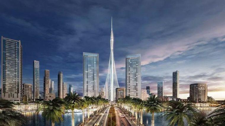 迪拜斥资10亿美元,再造世界最高塔,正在紧张施工中...
