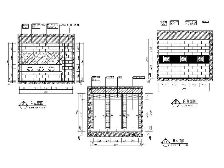 中式火锅店装修(含效果图、CAD施工图、3D模型带灯光材质)_6