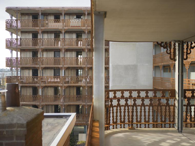 荷兰预制混凝土模块式的住宅-荷兰预制混凝土模块的住宅外部实景图 (1)