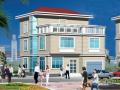 半框架半砖混结构三层独栋别墅建筑设计方案(包含CAD)