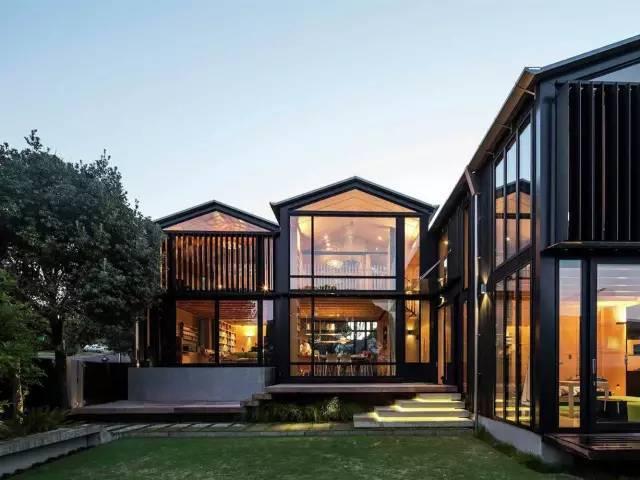 新西兰钢木结构别墅
