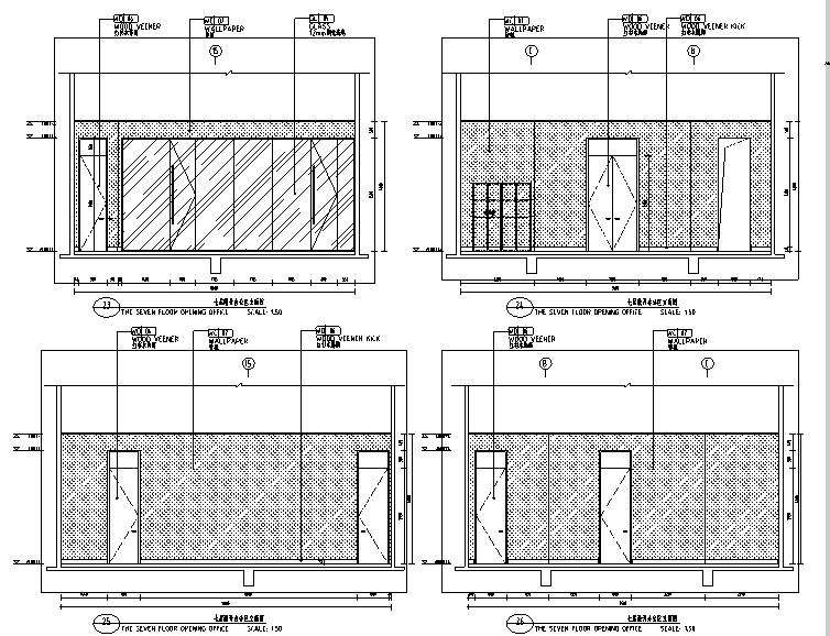 [内蒙古]酒店设计施工图(附效果图)
