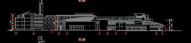 华东设计院——多层框剪结构办公楼建筑施工图