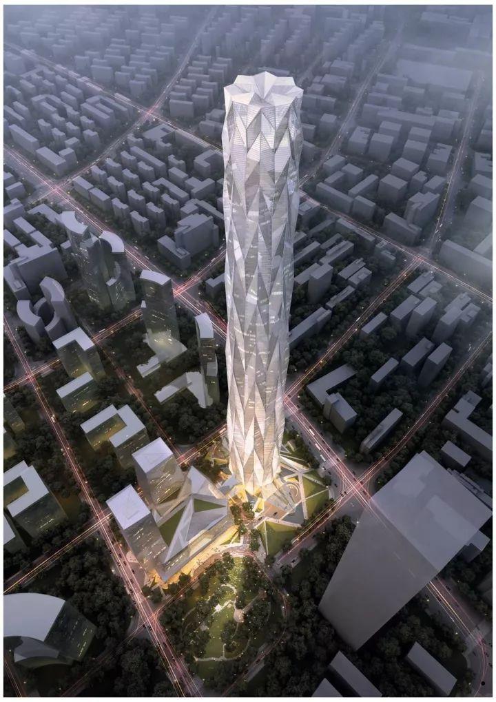 中国第一高楼再次被刷新。总高677米,中国第一,世界第二!_5