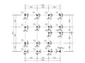 [湖北]异形柱框架结构别墅结构施工图(CAD、14张)