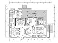 工业化复古简约loft风格酒吧空间设计施工图(附效果图)
