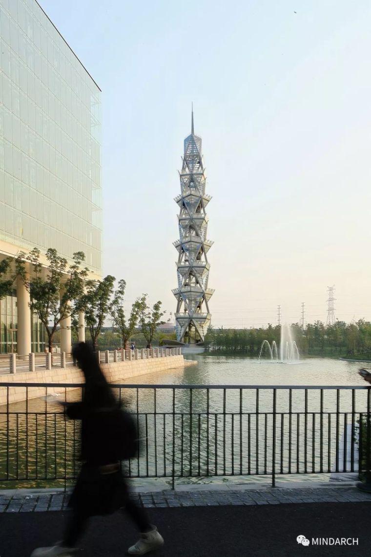 精神的地标---上海科技大学科技塔