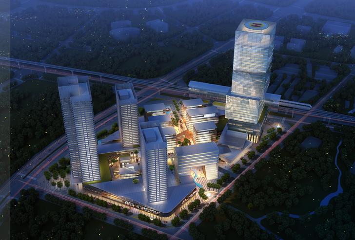 [深圳]中小企业总部综合体项目设计方案文本(附设计说明)