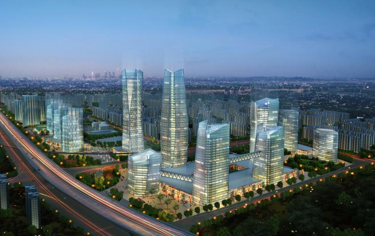 [北京]万科大型生活区城市综合体项目设计方案文本(PDF+PPT)