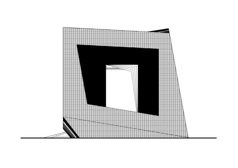 四川大学科学与艺术中心教学楼设计施工图(CAD)