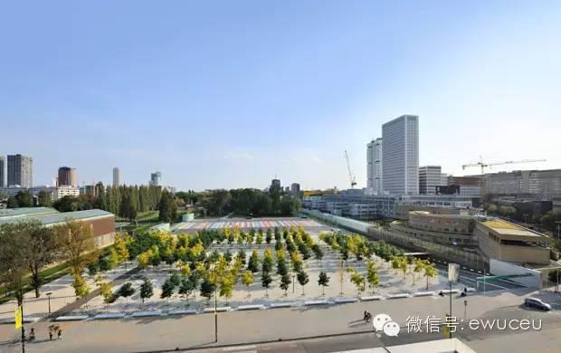 城市雨水收集实例-鹿特丹博物馆公园停车场储水库
