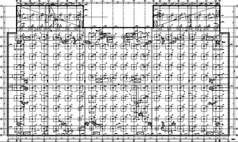 国有银行大型数据中心电气施工图
