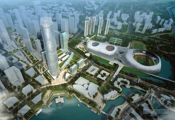 [深圳]沿海新区超高层城市中心总体规划设计方案文本