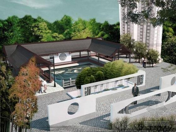 [河南]新中式古朴风格生活园区环境景观方案(学生作品)