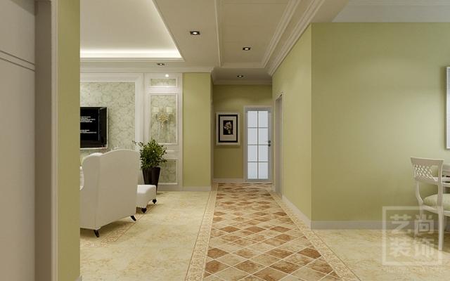 升龙天汇广场三室两厅现代简约样板装修效果图