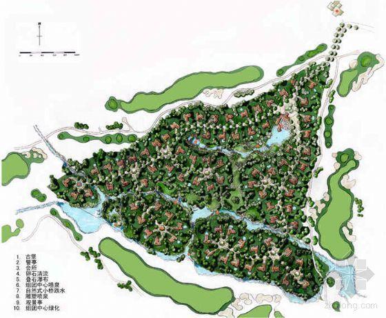 [杭州]高尔夫别墅区景观规划设计方案