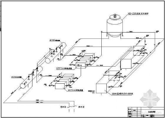 制冷机房轴测图