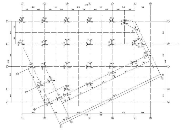 [江西]南昌凤凰城商业街结构施工图纸设计(框剪结构)
