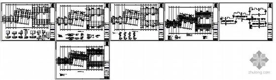 苏州某非人防车库地下室结构图