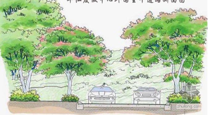 松原市某生态旅游度假中心园林景观设计说明