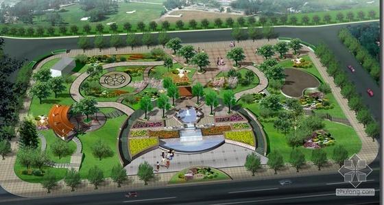 小广场景观设计投标文本