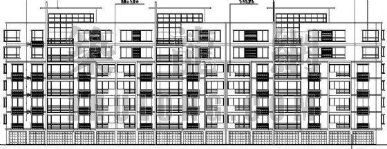 某单位宿舍公寓楼建筑施工图