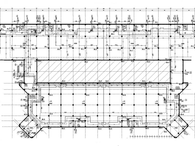 [内蒙古]多层研发车间给排水消防施工图设计