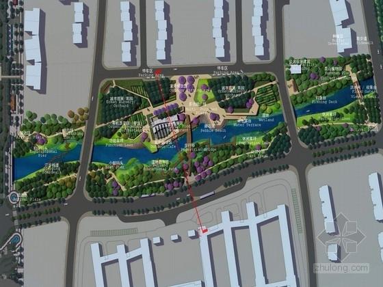 [苏州]生态人文滨水城市公园景观深化方案