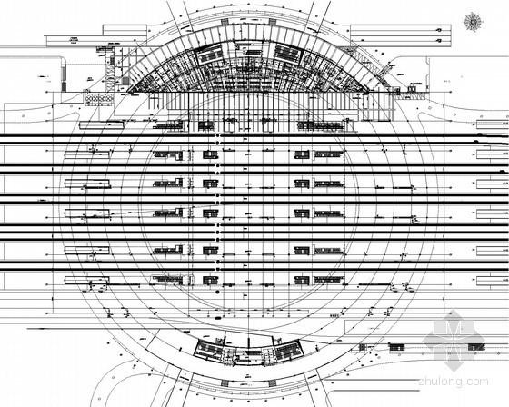 [上海]铁路站给排水施工图纸