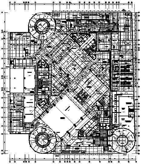 [四川]著名商业广场给排水全套施工图纸103张(含酒店、办公楼、公寓式办公楼)