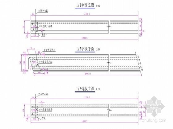 20m装配式先张法预应力简支空心板桥上部结构图25张