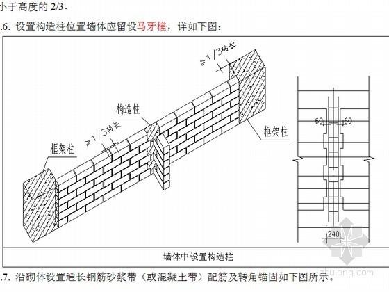 [广东]蒸压泡沫混凝土砌体工程技术交底