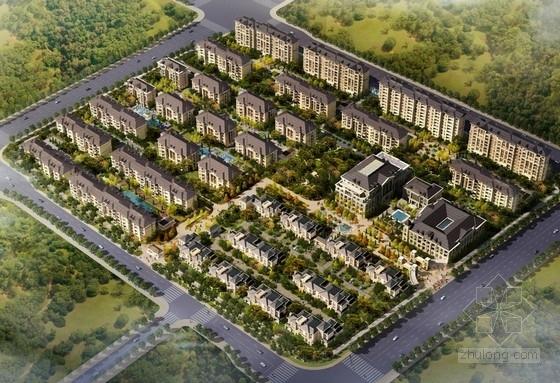 [北京]法式风格多层住宅区规划建筑设计方案文本
