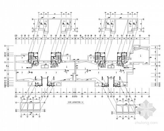 [江苏]甲级设计院高层住宅楼通风排烟系统施工图