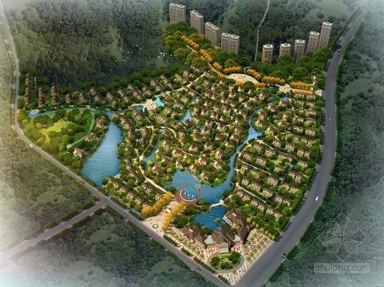 [浙江]古典欧式住宅及星级酒店单体建筑设计方案文本