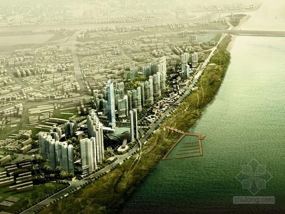 [湖北]商业区规划及单体设计方案文本