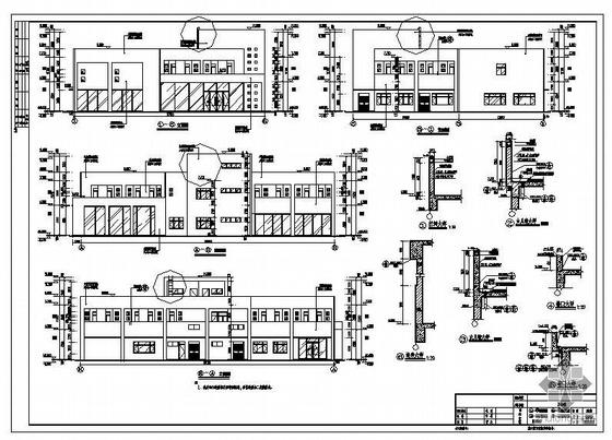 肇庆市某钢结构办公楼全套图纸